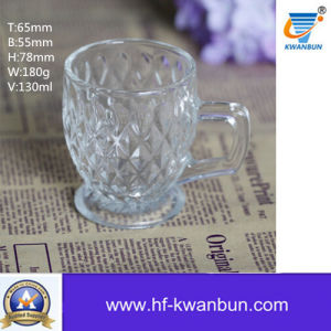 Tea Cup Glass Mug for Beer or Drinking Coffee Cup Kb-Jh6030 pictures & photos