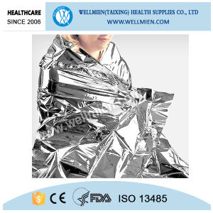 Mylar Keeping Warm Disposable Emergency Blankets pictures & photos