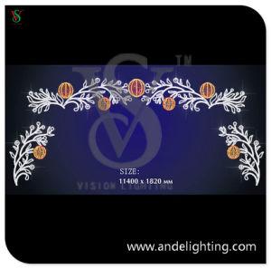 LED 2D Motif Light for Christmas Street Decoration pictures & photos