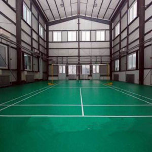 The Professional Manufacturer of PVC Indoor Badminton Flooring with Bwf Certifacation (JSYT0050) pictures & photos