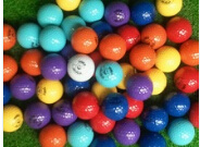 New Arrival OEM Tournament Rubber Core+Surlyn Practice Golf Ball pictures & photos