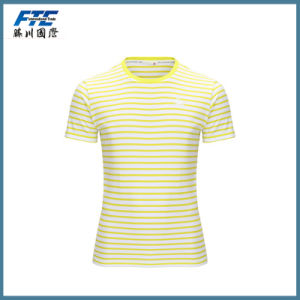 Custom Printing Striped Sweater T-Shirt pictures & photos