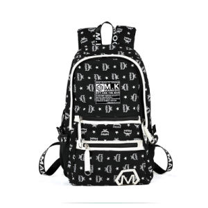 Letter Printing Wholesale Luxury Men Canvas Backpack (2121) pictures & photos