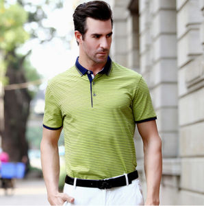 Fashion Nice Cotton/Polyester Golf Polo Shirt (P061) pictures & photos