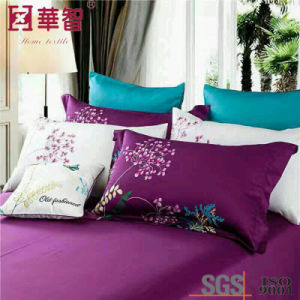 40s Cotton Embroidery Duvet Cover Bedding Sets pictures & photos
