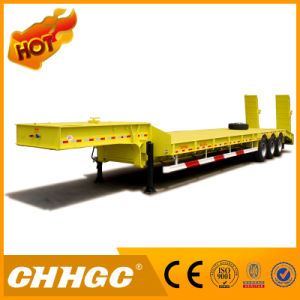 Straight Beam Low Bed Semi Trailer pictures & photos
