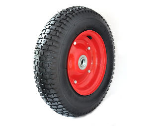 16*6.50-8 Wear-Resistant Rubber Wheel for Hand Truck pictures & photos
