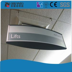 Double Sides Aluminium Hospital Lift Suspended Sign pictures & photos