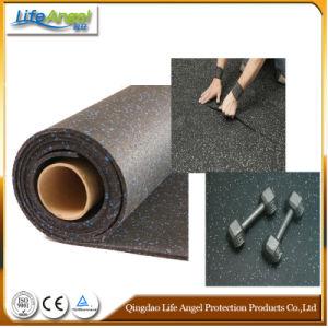 3-12mm Colored EPDM Granules Gym Rubber Flooring Rolls