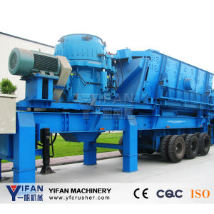 Good Performance and Low Price Iron Ore Mobile Crusher pictures & photos
