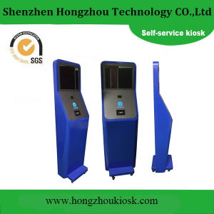Multi-Function Self Service Kiosk with Barcode Scanner pictures & photos