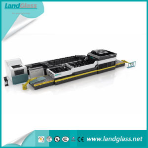 Landglass Flat and Bending Tempered Building Glass Making Machine pictures & photos