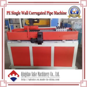 PE/PVC Single/Double Wall Corrugated Pipe Production Extrusion Machine Line pictures & photos