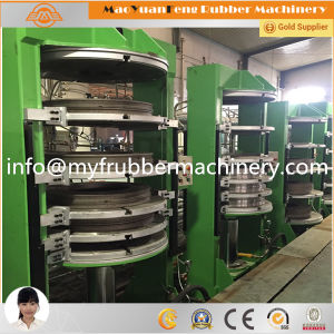 Motorcycle Tyre Vulcanizing Curing Press with BV, SGS, Ce Certification pictures & photos