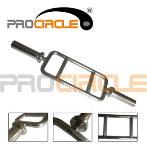 Weight Lifting Barbell Professional Tricep Training Bar Tricep Bar (PC-OB1009) pictures & photos