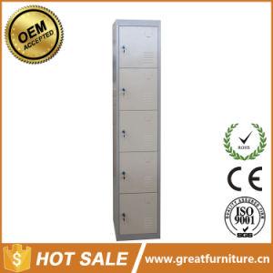 2017 Great Metal Commercial Furniture Steel Gym Locker 5 Door Locker pictures & photos