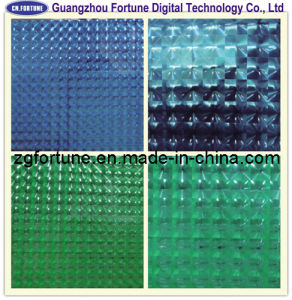 3D Cold Lamination Film / 3D Glass Film / 3D Decoration Film pictures & photos