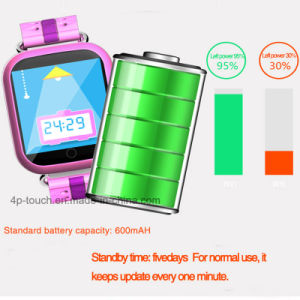 Colorful Touch-Screen Child/Kids Smart GPS Tracker Watch with Geo-Fence D19 pictures & photos