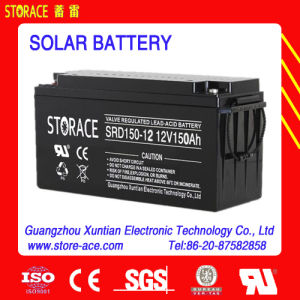 12V 150ah Solar Panel Batteries pictures & photos
