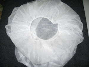 Disposable Medical Non-Woven Bouffant / Round Caps pictures & photos