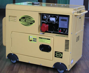 KDE6500T 4.5/5KVA Diesel Power Digital Panel Generator