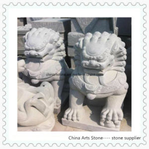 Chinese Stone Lion for Garden or Door pictures & photos