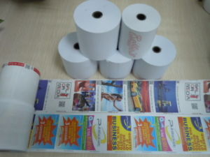 High Quality Thermal Paper Roll for ATM POS pictures & photos