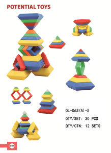 Pyramid Shape Building Blocks Ql-063 (A) -5