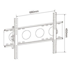 "Heavy Duty TV Bracket for 32""-75"" pictures & photos"