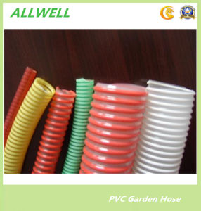 PVC Flexible Spiral Reinforced Water Suction Pipe Hose pictures & photos