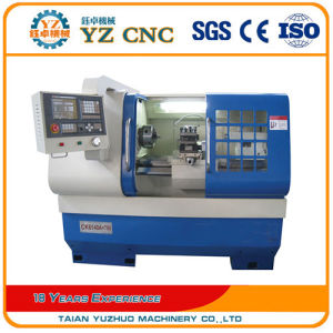 High Quality Flat Bed CNC Lathe Price Machine pictures & photos