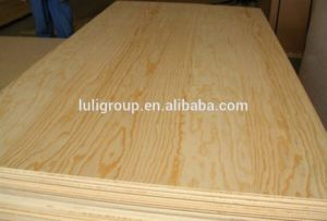 Full Pine Plywood (Larch Plywood) , E1 Grade Pine Plywood in Sale! pictures & photos
