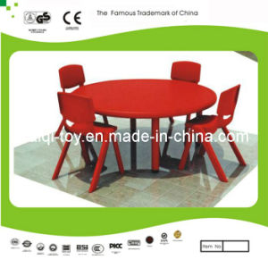 Kaiqi Children′s Table and Chairs - Round Shape - Many Colours Available (KQ10184C) pictures & photos