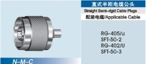 Straight Semi-Rigid Cable Plug pictures & photos