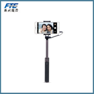 Foldable Extendable Monopod Selfie Stick with Wired Cable Shutter Remote pictures & photos