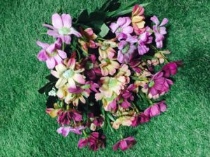 Artificial Flowers of Milan Rose 75cm Gu-D70196 pictures & photos