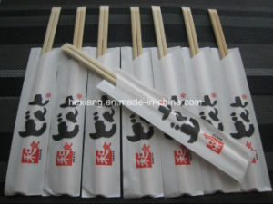 Customer Package Bamboo Wooden Chopsticks pictures & photos