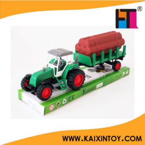 Plastic Friction Farmer Car Toy for Kids pictures & photos