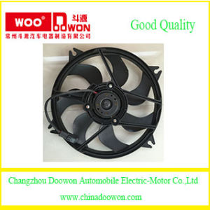 Auto Parts Radiator Electric Cooling Fan for Peugeot 307 1253G7