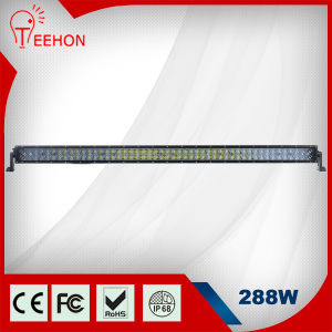 "4D Lens 50"" 288W LED Car Roof Top Light Bar pictures & photos"