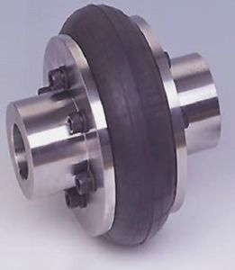 Industrial Machine Parts-The Tyre Shaped Coupling