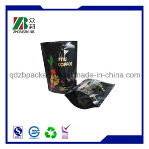 Stand up Ziplock Valve Packaging Pouch for Coffee pictures & photos