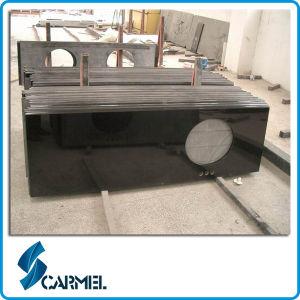Pre Cut Black Granite Countertops for Kitchen