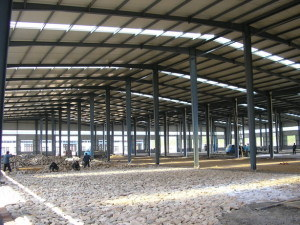 ISO Prefabricated Large Span Steel Structure Workshop pictures & photos