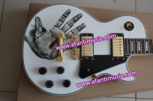 Mahogany Body & Neck / Lp Custom Style / Afanti Electric Guitar (CST-194) pictures & photos