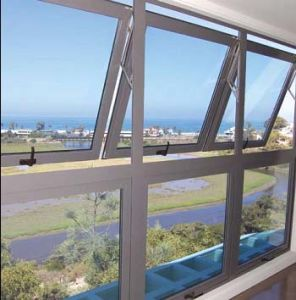 Aluminium Top Hung /Aluminium Awning Window (004)