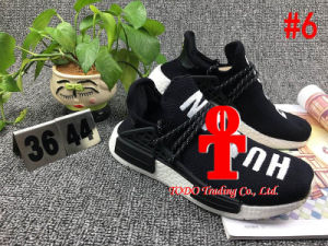 Ensure 100% Original Nmd Human Race, Yellow Human Race Nmd Real Boost Running Shoes, Nmd for Man Women, Size 36-48, Sports Shoes, Run Boots pictures & photos