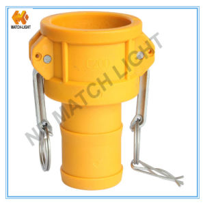 Plastic Coupler Type C with Grooved Hose Shank Kamlock Coupling pictures & photos