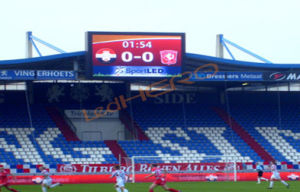Soft Mask Stadium LED Display Full Color with Fast Lock