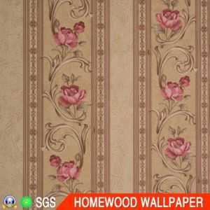 New Fashion Deep Embossed Vinyl Wallpaper pictures & photos
